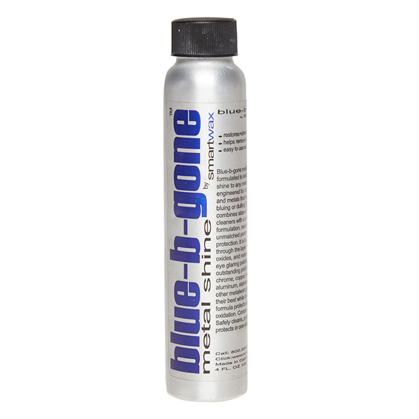 Smart Wax Blue Be Gone 120ml Metal Cleaner and Polish