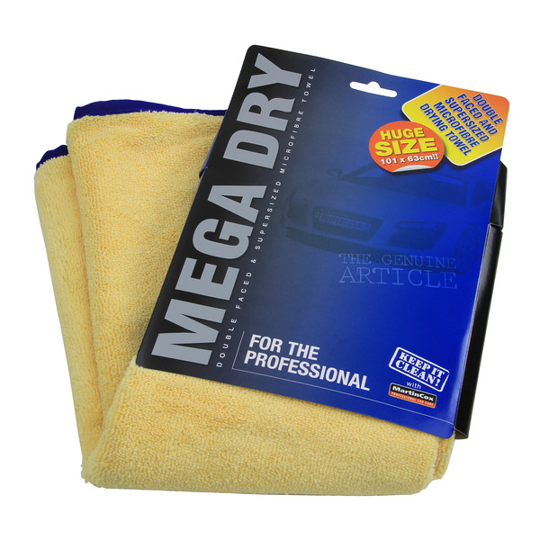 Trade Quality Microfibre Drying Towel Mega Dry 101 x 63cm