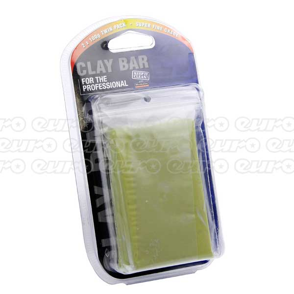 Trade Quality 100g Clay Bar Twin Pack