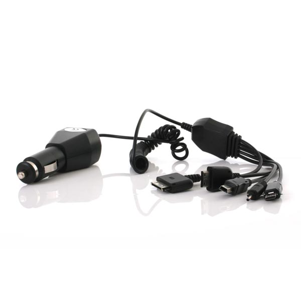 Object 5 In 1 Car Charger