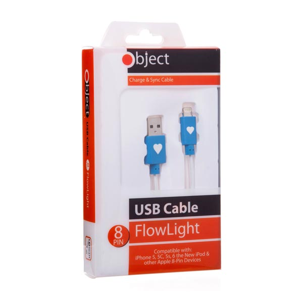 Object Flowlight USB Cable Blue