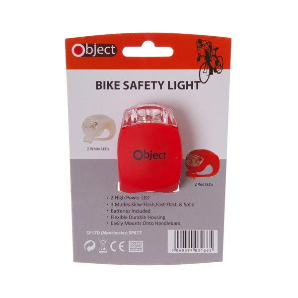 Object 1 Bike Light Red