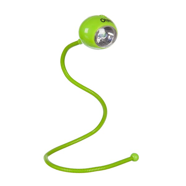 Object Led Flexible Booklight Green