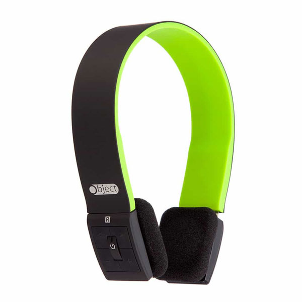 Object Bluetooth Stereo Headphones Green