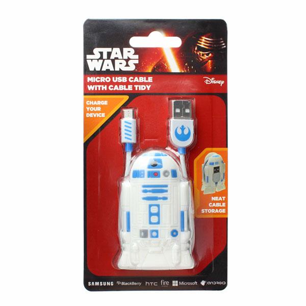 Star Wars Star Wars Cable Tidies- R2D2 (USB)