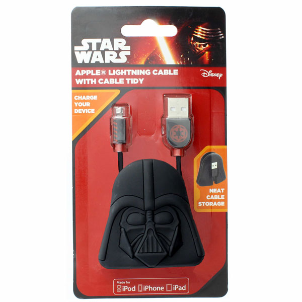 Star Wars Cable Tidies- Vader (MFI)