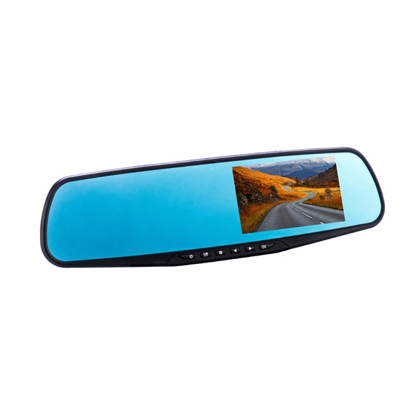 CoPilot Rearview Mirror Dual Dash Cam