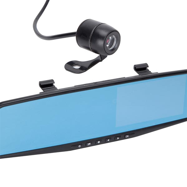Object Mirrored Front & Rear Dash Cam