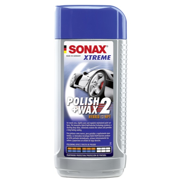 sonax xtreme polish wax 2 hybrid 250ml euro car parts. Black Bedroom Furniture Sets. Home Design Ideas