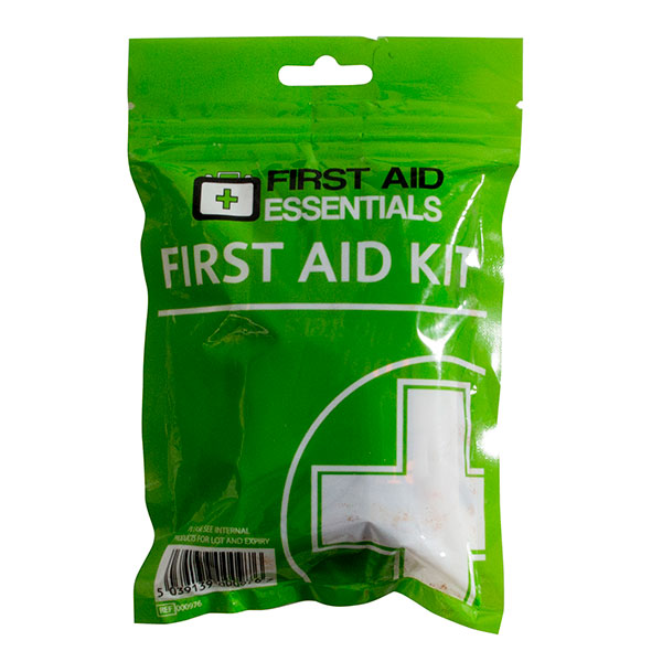 First Aid Kit Light Weight Foil Pouch 21pcs