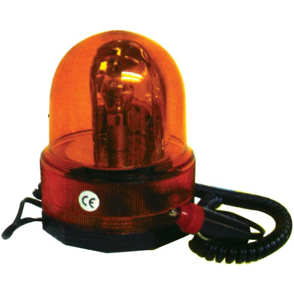 Streetwize 12V Amber Rotating Beacon -Off Road Use
