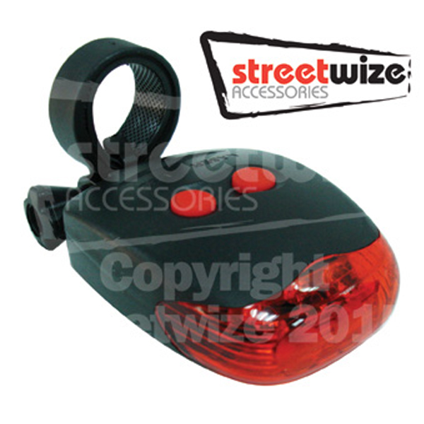 Streetwize Laser Safety Rear Bike Light