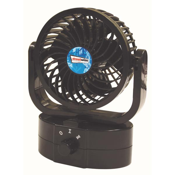 Streetwize Cyclone 1 Single Oscillating Power Fan