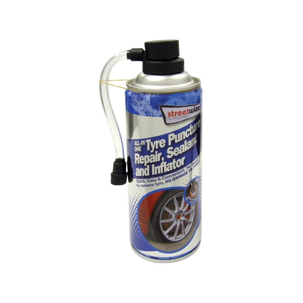 Streetwize Tire Sealer/Inflator