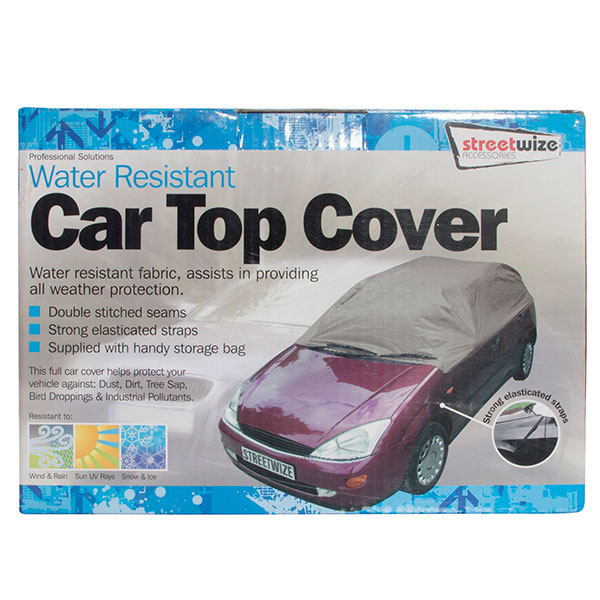 Streetwize Water Resistant Car Top Cover Large