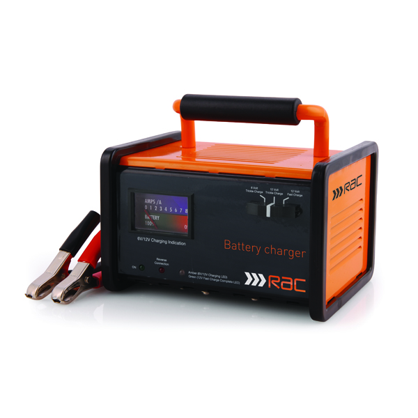 RAC 12 amp automatic battery charger