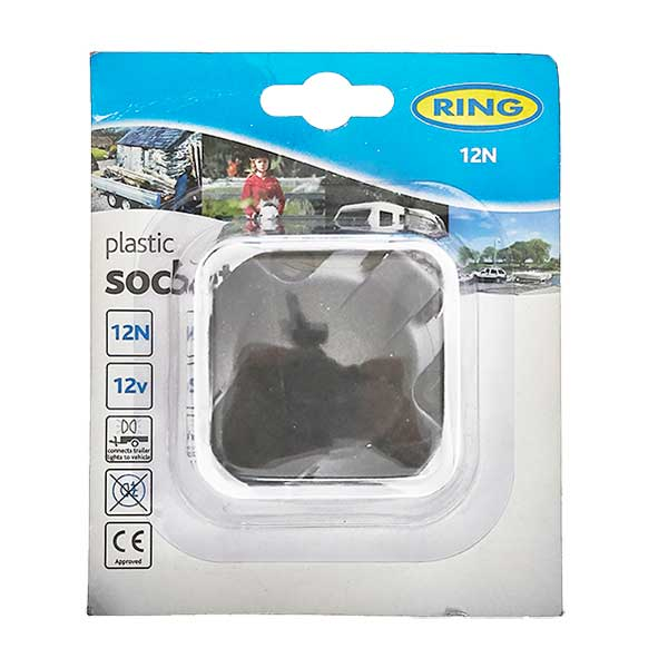 Ring 12N Plastic Socket (including rear fog c