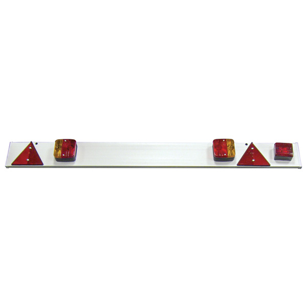 Streetwize 4ft 6 Trailer Lighting Board with Lights - 6mtr Cable