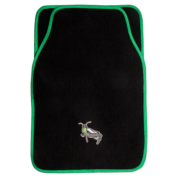 Carpoint 4pc Car Mat Set - GrassHopper Design