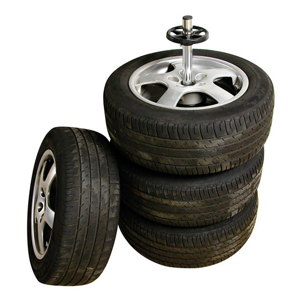 Carpoint Static 4 Wheel Storage Tyre Tree & Cover