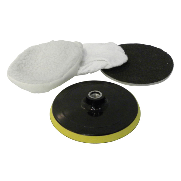 Carpoint Polishing disc set, 150mm 3pcs