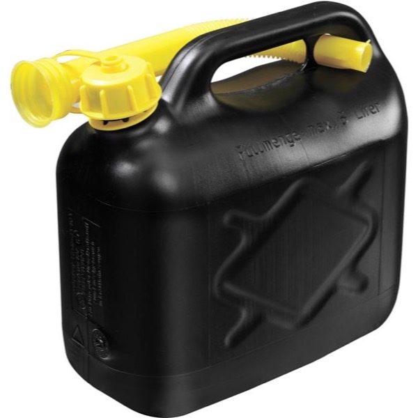 Carpoint Plastic Jerry can 5L 375 gram B