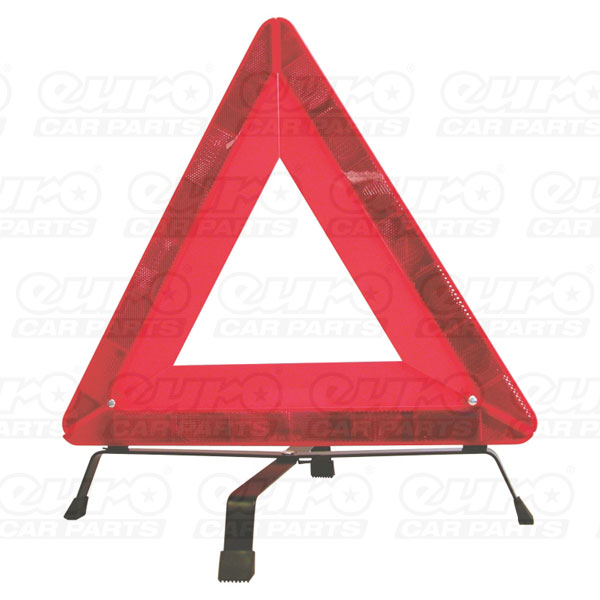 Carpoint Warning triangle, heavy type E-approved