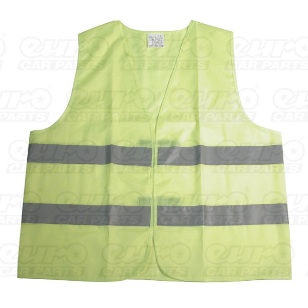Carpoint Safety jacket. Yellow