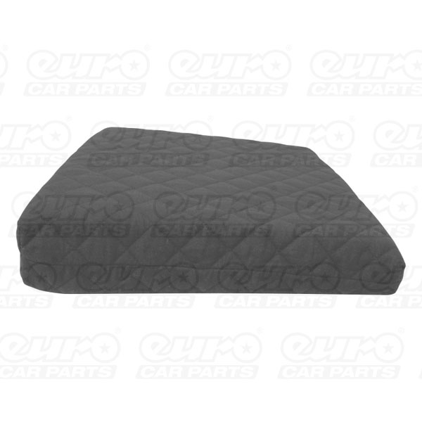 Carpoint Seat cushion 'Basic Black', 40 x 40cm