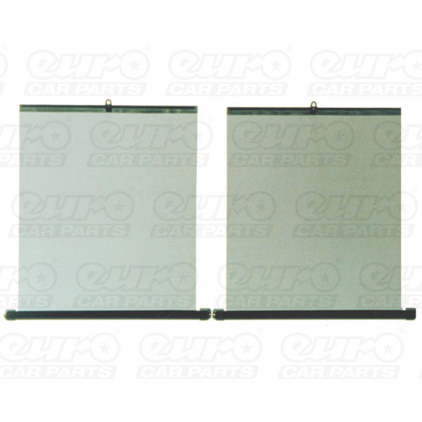 Carpoint Roller Blind Set 47x58x44  2 pieces