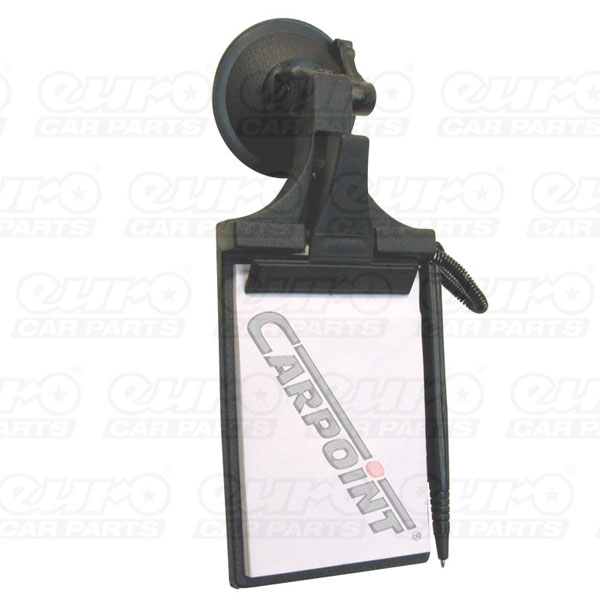 Carpoint Notepad with suction cup  9x13cm