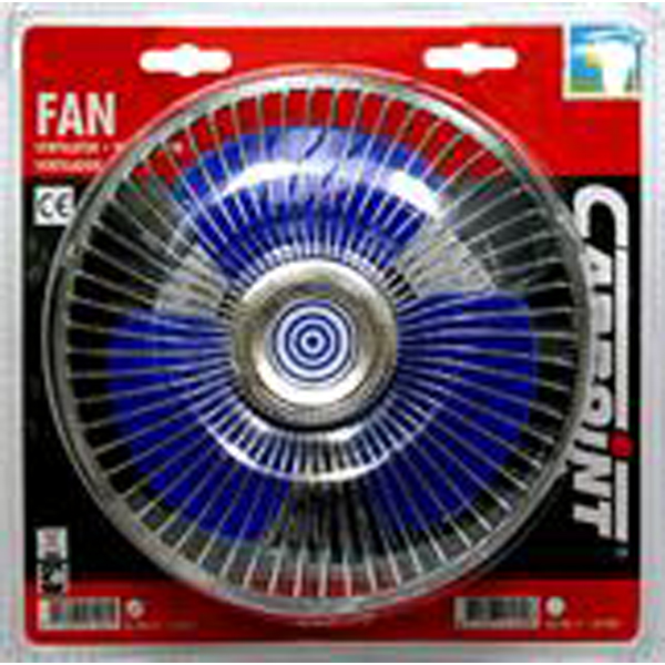 """Carpoint 12 Volt Car Interior 6"""" (150mm) Oscillating Cooling Fan with Screw Fixing"""