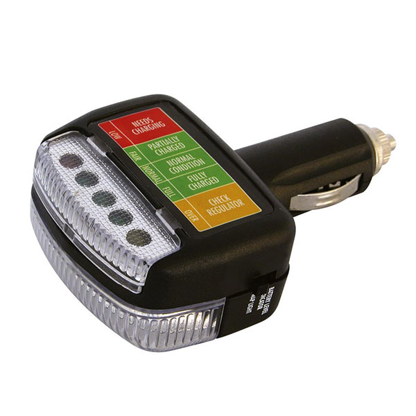 Carpoint Battery analyzer