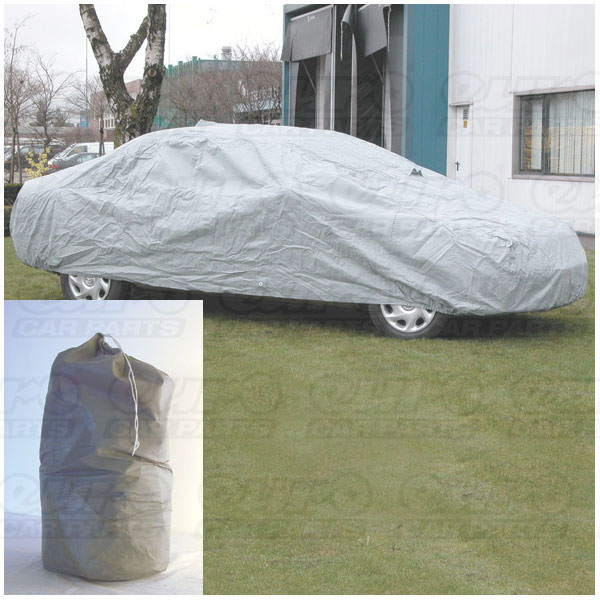 Carpoint 100% Waterproof  Carcover Tybond size S 4,06 x 1,50 x 1,16 m.