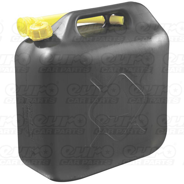 Carpoint Plastic Jerry can  20L.1000 gram Black
