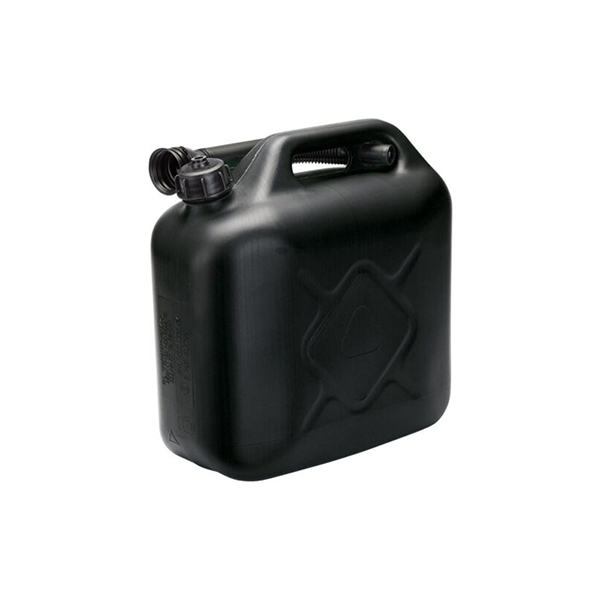 Carpoint Plastic Jerry can 10L 670 gram Black