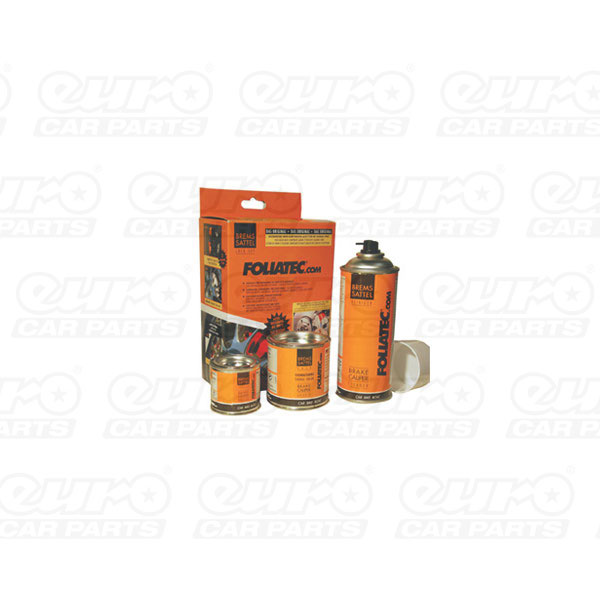 Foliatec BRAKE CaliperLacquer, orange 3 components