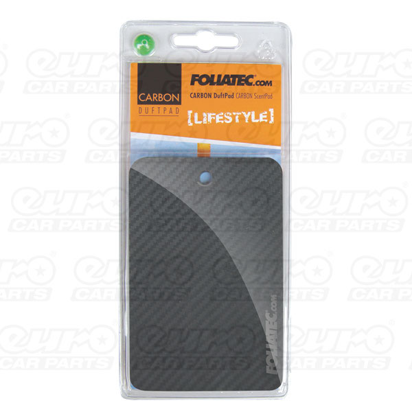 "Foliatec CARBON ScentPad - ""Lifestyle"", 1 pieces, 3D-Carbon-Structure"