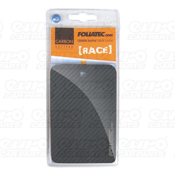 "Foliatec CARBON ScentPad - ""Racing"", 1 pieces, 3D-Carbon-Structure"