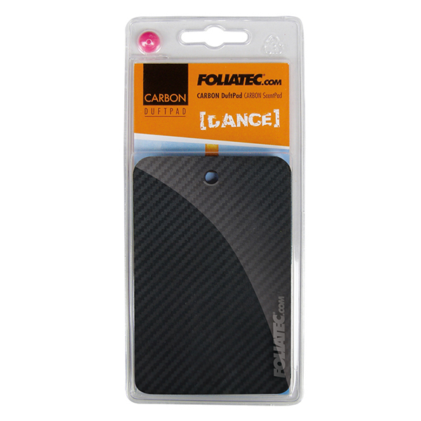 "Foliatec CARBON ScentPad - ""Dance"", 1 pieces, 3D-Carbon-Structure"