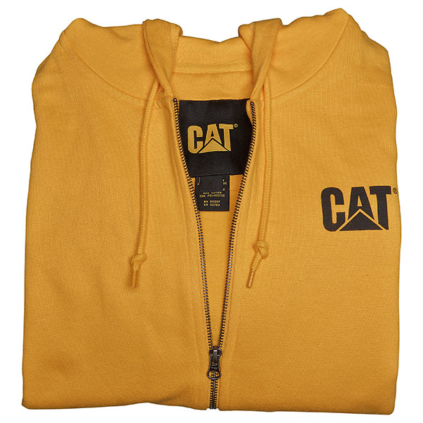 Hooded Sweatshirt Yellow - Large