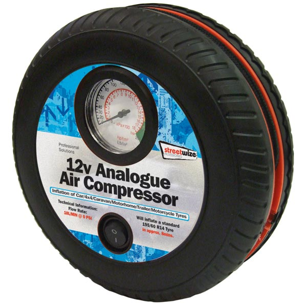 Streetwize Tyre Air Compressor