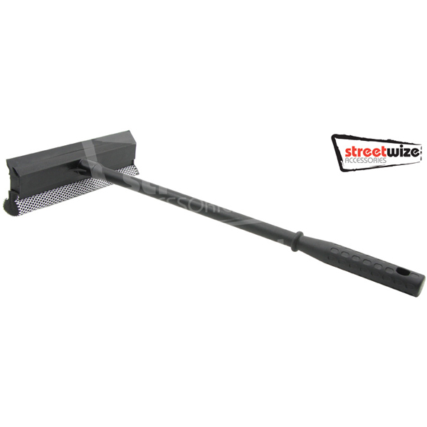 "Streetwize Large 20"" handled squeegee/bug shifter/scraper"