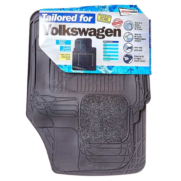 Streetwize VW  4pce Tailored Combination Mat Set