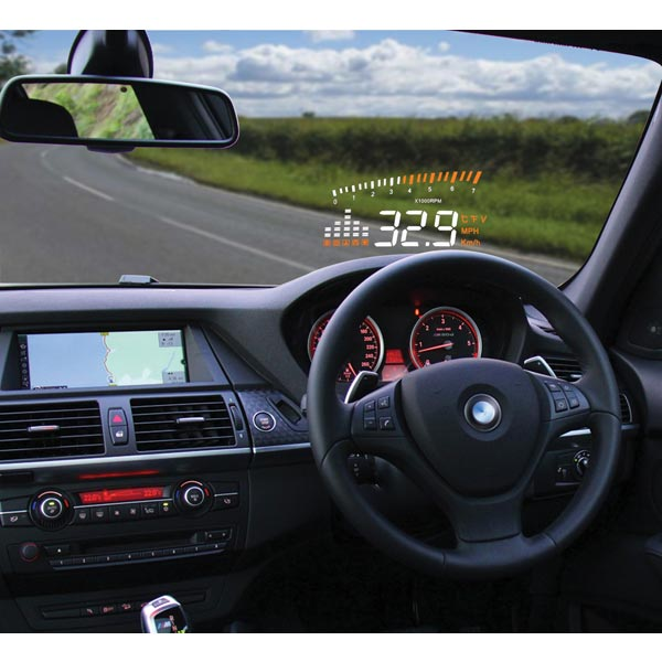 Streetwize Head-Up display Unit (via OBD2 socket)