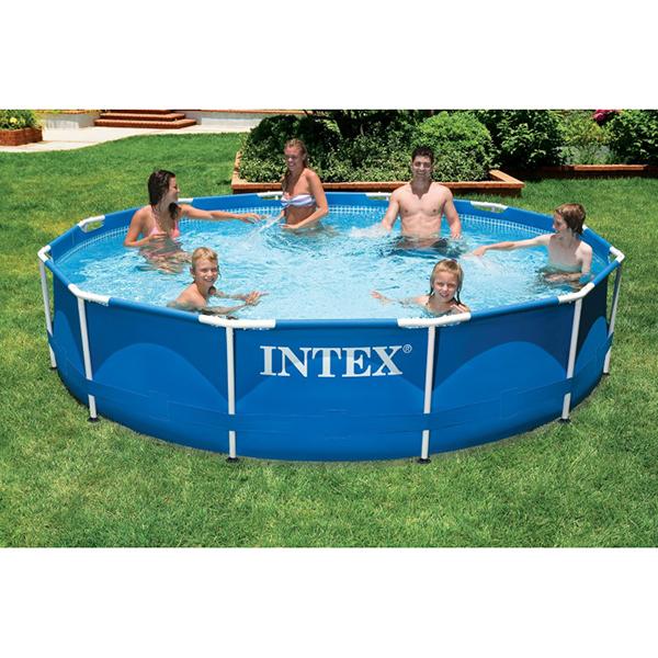Intex Metal Frame Swimming Pool Round) 3.66mtr x 0.76mtr - AGP