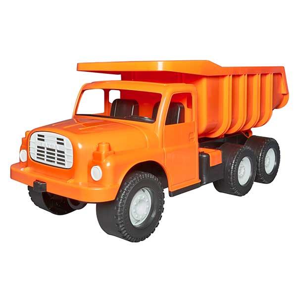 Orange Dump Truck Toy