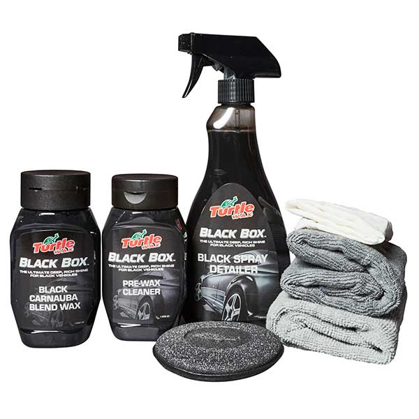 Turtlewax Black Box - Polish & Valeting Kit