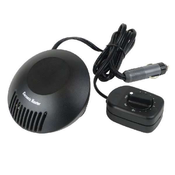Carpoint Ceramic Heater With Timer - 200watt