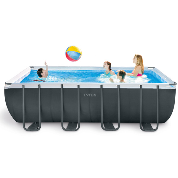 Intex Ultra XTR Metal Frame Swimming Pool (Rectangular) - 5.49 x 2.74 x 1.32 mtr - AGP